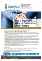 5 Reasons to Outsource Payroll - Eurofast