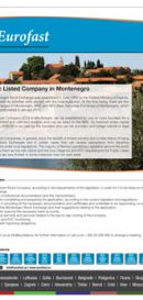 Eurofast Public-Listed-Company-in-Montenegro