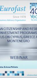 European citizenship & residency investment programs